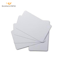 PVC Materiale 85.5 * 54mm 13.56 mhz Rfid Blocking Card