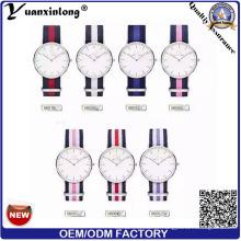 Yxl-622 Japão Movimento Aço Inoxidável Clássica Nato Band Men Watch, Slim Nato Strap Relógios Nylon