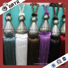 fashion China high quality tassel tiebacks, curtain tie backs