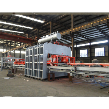 Semi-Automatic Short Cycle Hot Press Veneer Production Line