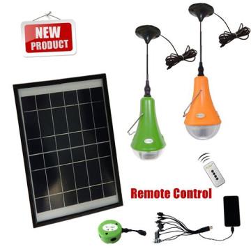 15W Mini-Solar-System, off Grid-Solarstrom-Kits, Kit solar led