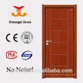 Plain hotel use interior sound insulation wood door