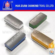 Metal Fickert Abrasive Diamond Grinding Block for Stone Slab