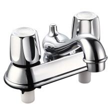 Grifo de lavabo de plástico con dos manijas (JY-1051)