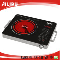 Made in China Stainless Steel Case with Handle Electric Infrared Cooker