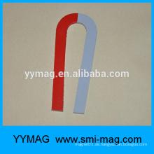 Cast Alnico rot und weiß lackiert U-Typ Magnet