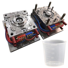 oem precision plastic profiles thin wall molding measuring scale cup mould making contaniers injection molds