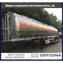 Semi-Reboque do tanque de combustível do Tri-Eixo 40000-50000L da fábrica