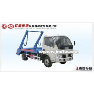Dongfeng garbage truck green man waste management