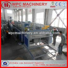 Máquina de porta pvc de madeira composta de plástico de madeira