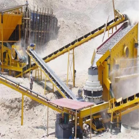 Quarry Ore Rock Crushing Plant
