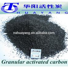 tratamiento de agua Densidad de llenado 0.48 g / cm3 de carbono activado