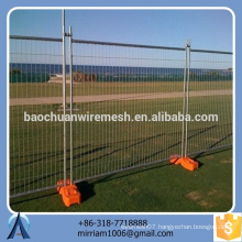 cheap price Australia hot-dipped galvanized PVC coated welded temporary fence (exporter)