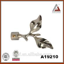A19210 aluminium leaf curtain finial