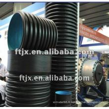 Chaîne de production de pipe FT double paroi