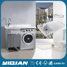 Cabinet de salle de bain en acier inoxydable en vanité de lavage