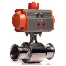 KLQD Q681F-16R 316 Pneumatic Sanitary Ball Valve
