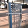 Panneaux de clôture galvanisés à chaud chauds GM, clôture galvanisée à bas prix
