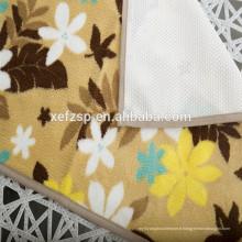 100% polyester microfibre mémoire mousse pvc mat lavable 100% polyester microfibre tapis de douche