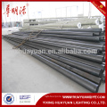road metal black light poles