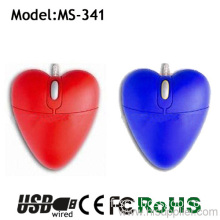 For Show Love Of The Pretty Red And Blue Heart Mouse