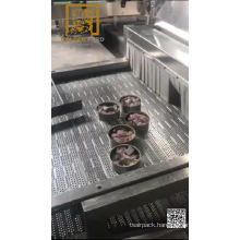 Fish processing assembly line machine