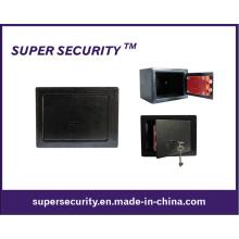 Acero resistente construido tecla bloqueo caja de seguridad (SMD19)