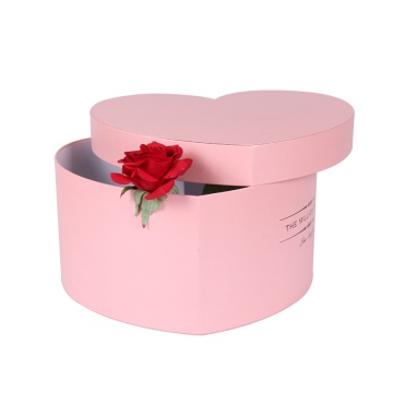Verschillende ontwerp Custom Heart Shaped Flower Box