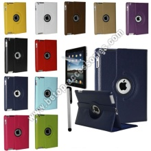 iPad 2 & 3 360 Rotating Magnetic Leather Case