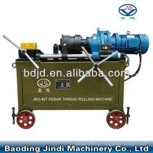 Máquina de roscado de varilla de anclaje de alta velocidad JBG-40T