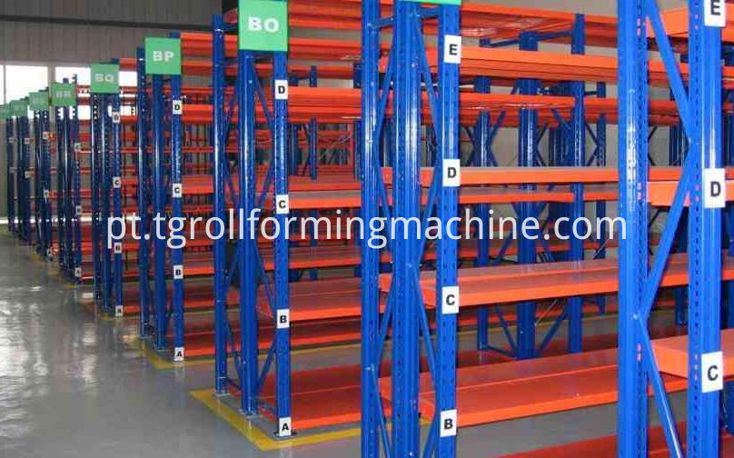Storage Racks Forming Machine