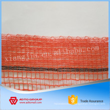 Filet de protection de construction orange HDPE avec fine maille de construction américaine