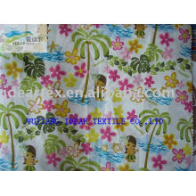 300T Polyester Pongee Printed Fabric