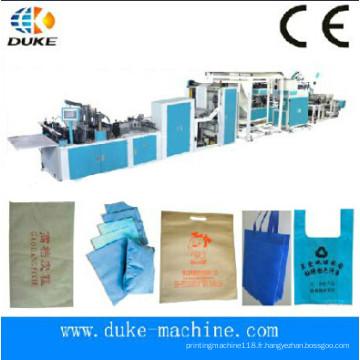 Machine de fabrication de sacs non-tissés automatique entièrement automatique / Machine à sac non tissé (Machine automatique sans fil de sac à main entièrement automatique / machine à sac non tissé (DK-600))