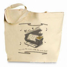 Eco-friendly Shopping Bag with Logo Printing and Comfortable Shoulder Strap, Made of 6-ounce Canvas