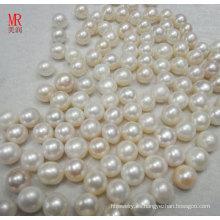 Perlas y perlas de agua dulce naturales grandes de 13m m