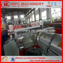 Bord Holz Kunststoff Schalung Maschine / PVC WPC Bord machen Maschine / WPC Schaum Bord Extrusion Maschine