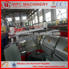 Placa de plástico de madeira máquina de cofragem / PVC placa WPC fazendo máquina / máquina de extrusão placa de espuma WPC