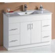 Белый глянец MDF Горячие салфетки для ванной комнаты (UV6027-1200W)