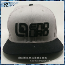 fashion with 3D emboridery good quality snpaback hat make in china