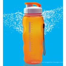 500ml / 700ml PC / botella de agua de Tritan, botella de agua de los deportes, botella del recorrido