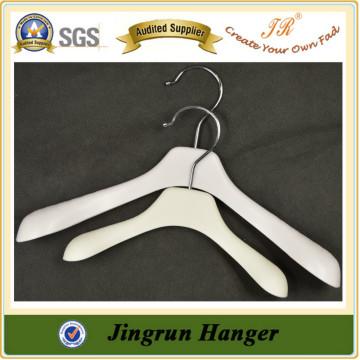 2016 Professional Manufacture Plastic Hanger White clothes hanger