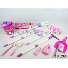 2012 buenos juguetes vendedores de la herramienta de la limpieza del plástico fijaron H101280