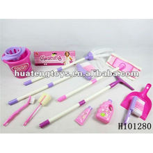 2012 plastic good selling cleaning tool toys set H101280