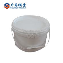 Fabricante profesional barato y de alta calidad Moldeo plástico del cubo del molde de la pintura de la inyección de alta calidad