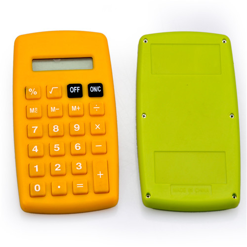 8 Digits Colorful Pocket Electronics Calculator