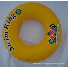 Anillo inflable del nadador del bebé del PVC de los 60cm
