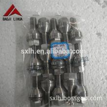 manufactured hot sale hex head titanium bolts