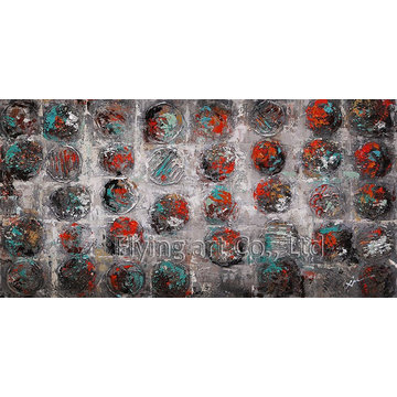 Reproduction Abstract Oil Painting