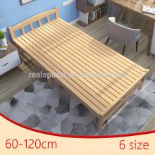Nuevos marcos de la cama de la plataforma de madera plegables de la cama del campo